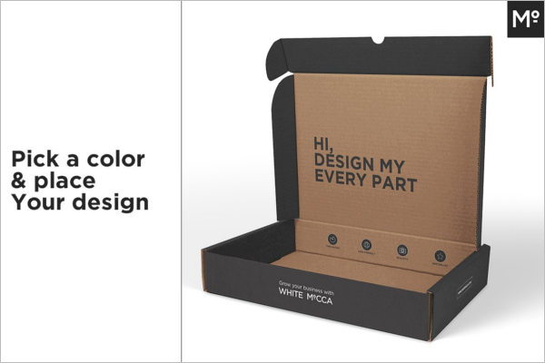 Customize Paper Bag Mockup Template