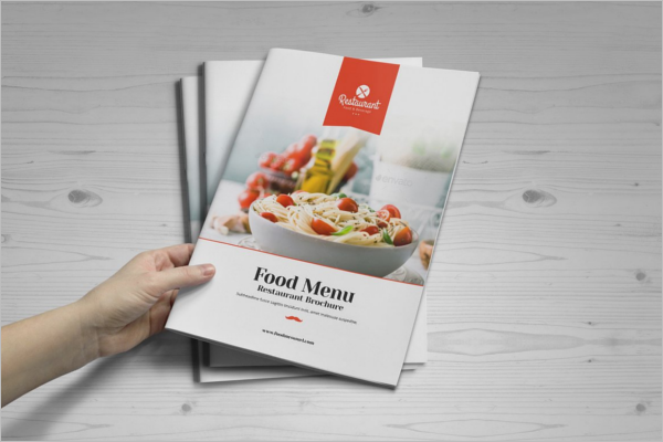 Customize Restaurant Brochure