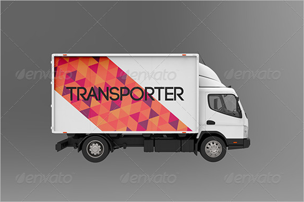 Customize Truck Mockup