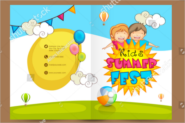 Daycare Brochure Template Free Download