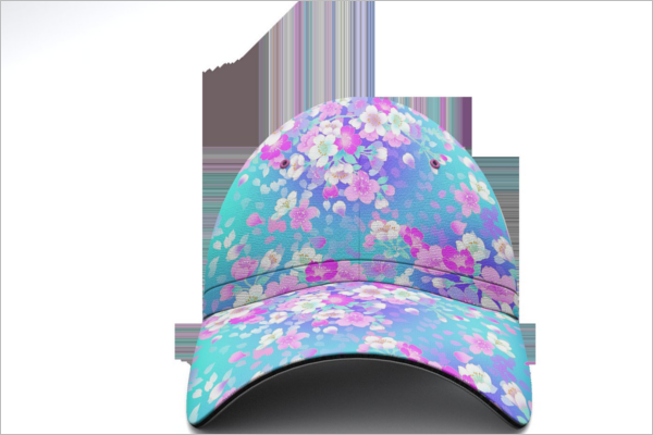 Decorative Cap Mockup Design