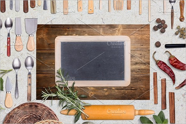 Decorative ChalkBoard Mockup Template