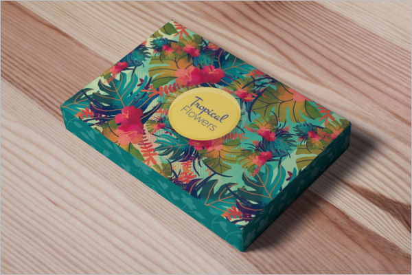 Decorative Packaging Mockup Design
