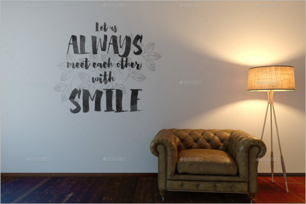 Decorative Wall Art Mockup