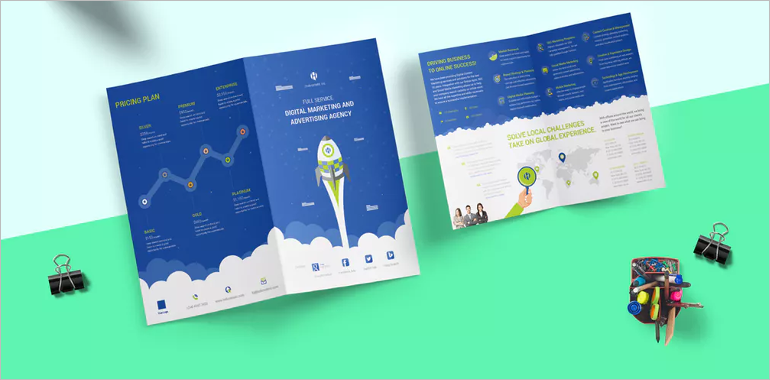 Digital Brochure Templates Idealstalist