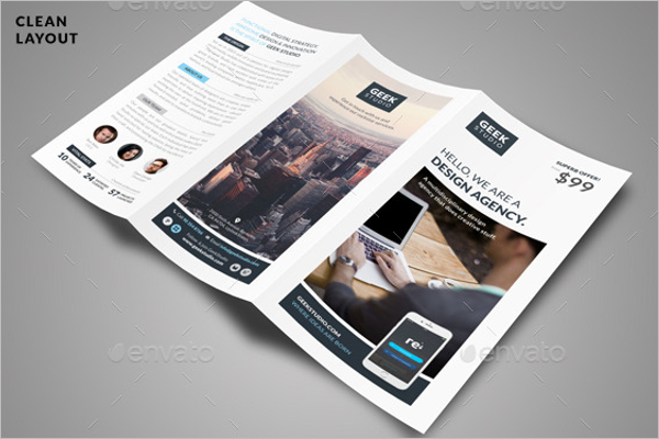 Digital Design Brochure Template