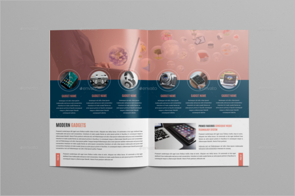 Digital Products Brochure Design