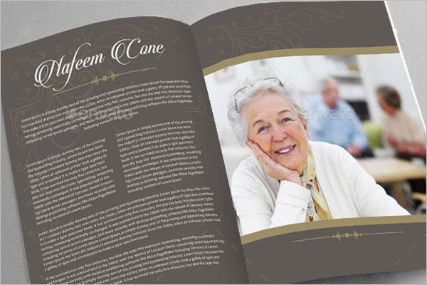 Editable Funeral Brochure Design