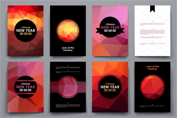Editable New Year Brochure