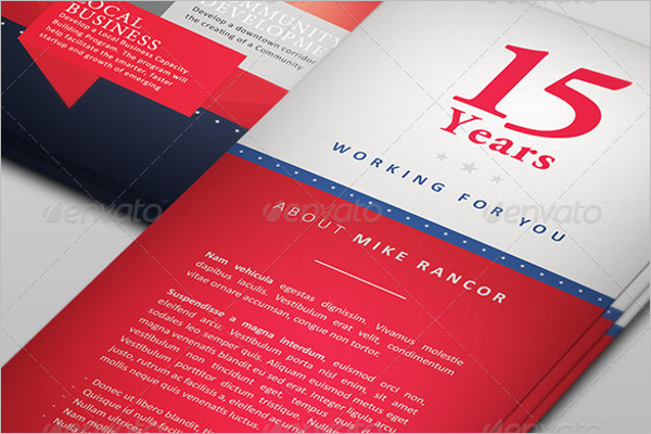 Election Brochure Design