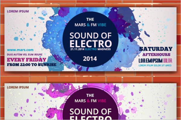 Electro Music Tickets Mock-Up