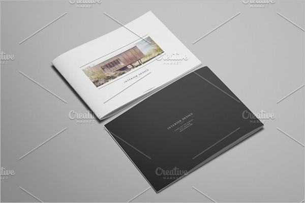 Elegant Interior Design Brochure