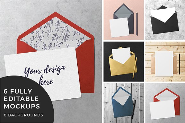 Envelope Mockup Template