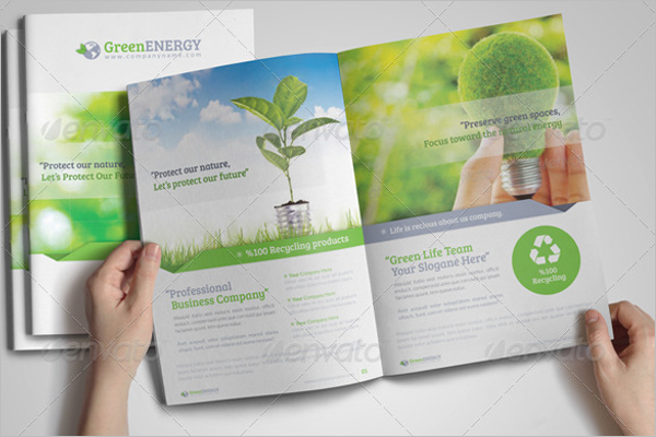 Environmental Services Brochure Template