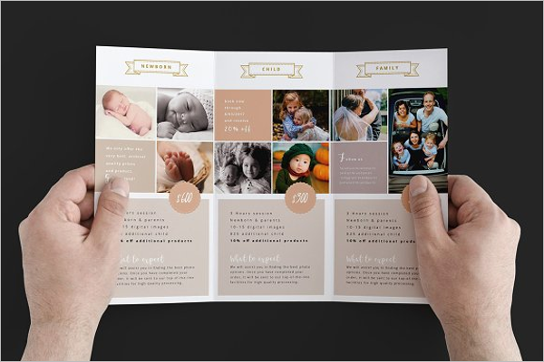 Event Photography Brochure