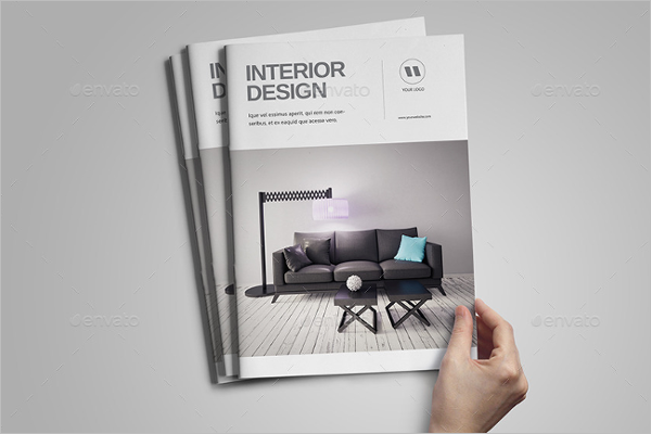 Exterior & Interior Brochure Template