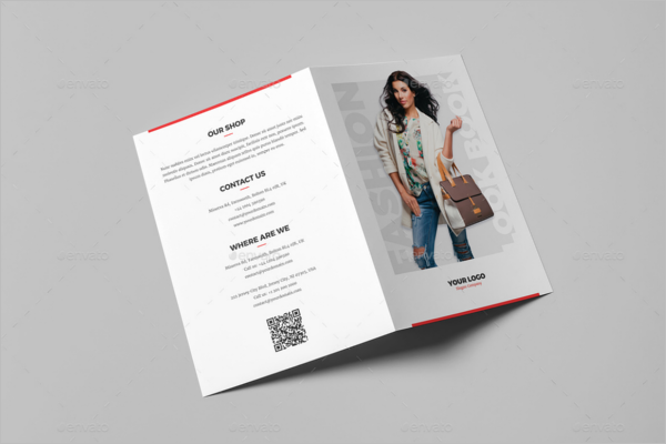 Fashion Bifold Brochure Design