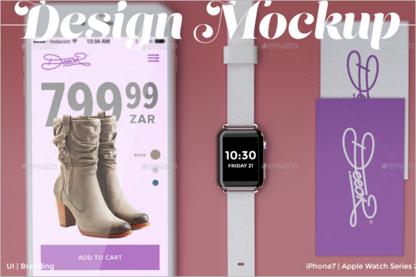 Fashion Branding Design Mockup