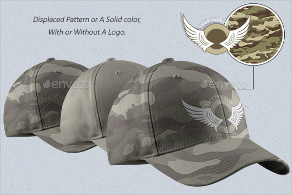 Fashion Cap Mockup Design