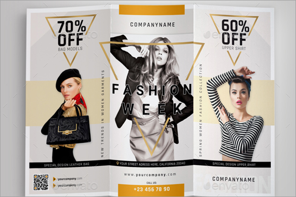 Fashion Event Brochure Template