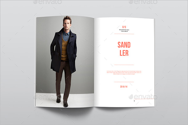 Fashion PDF Brochure