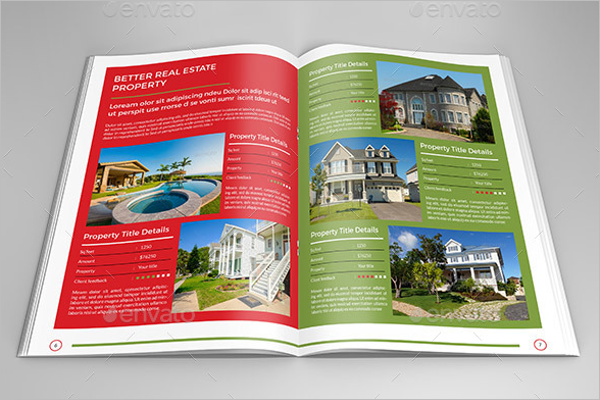 Finincial Real Estate Brochure Template