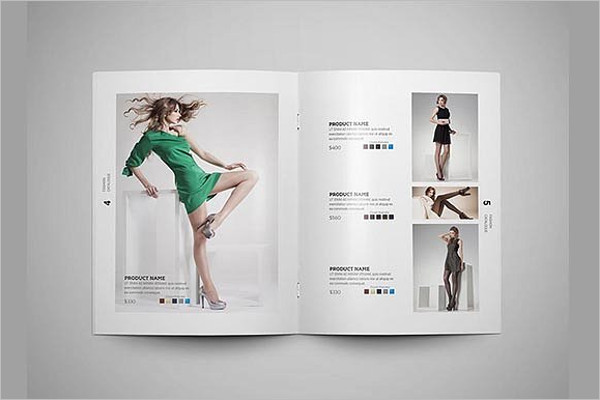 Flat fashion Brochure