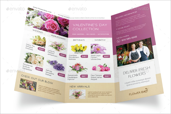 Florist Brochure Bundle