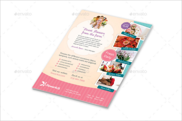 Florist Services Brochure Design