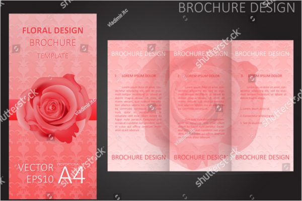 free florist brochure templates archives sample theme