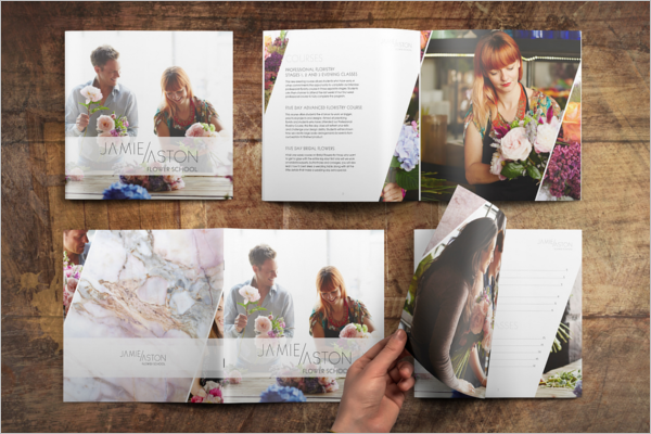 Flower Shop Brochure Free Download