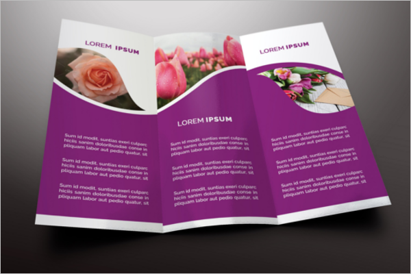 Flower Shop Brochure design PSD.png