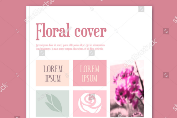 Flowers Decorative Brochure Design