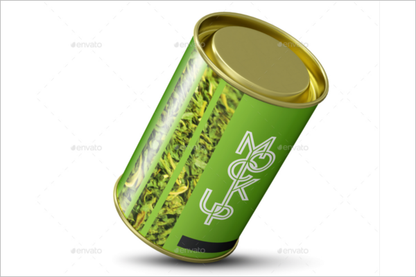 Food Packaging Tube Mockup