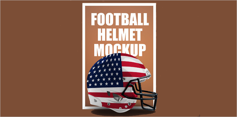 Football Helmet Mockups
