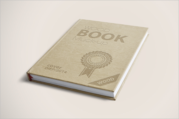 Free Book PSD Mockup Design