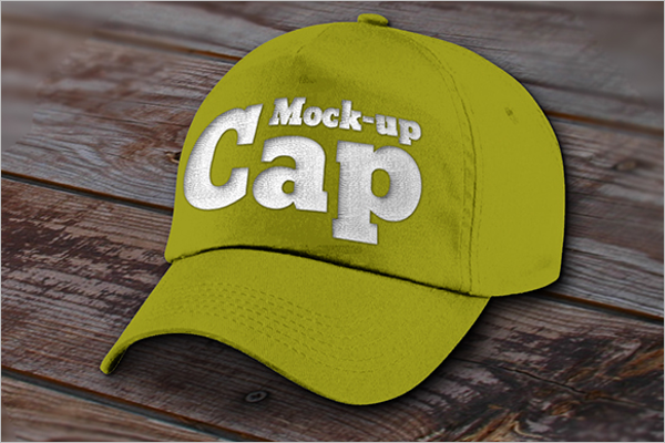 Free Cap Mockup Download