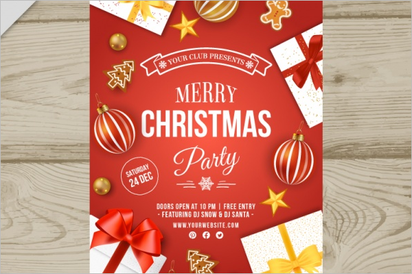 Free Christmas Brochure Template