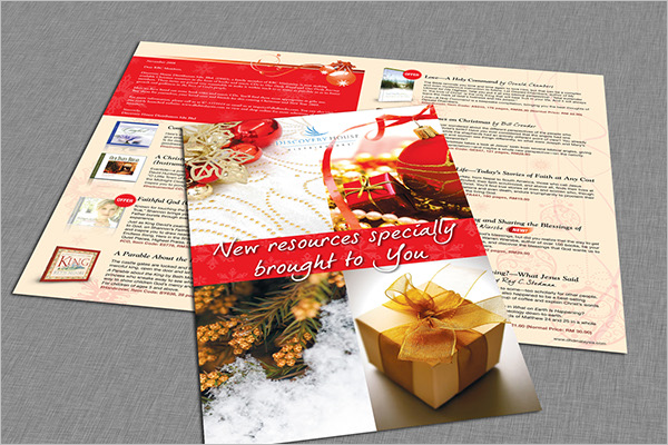 Free Christmas Catalog Template