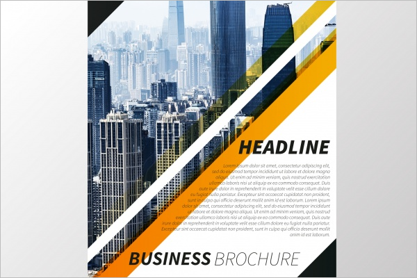 Free Construction Business Brochure PSD
