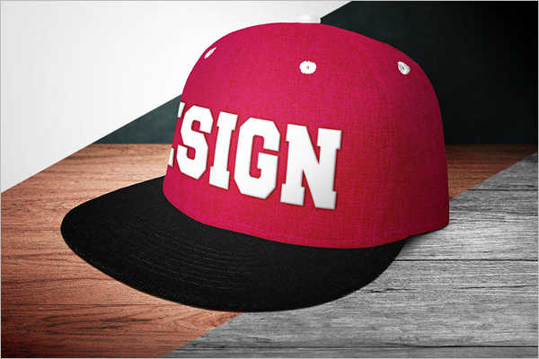 Free Download CAp Mockup