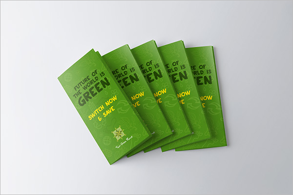 Free Green Brochure Template