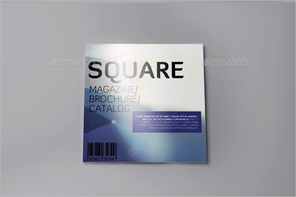 Free Magazine Brochure Template