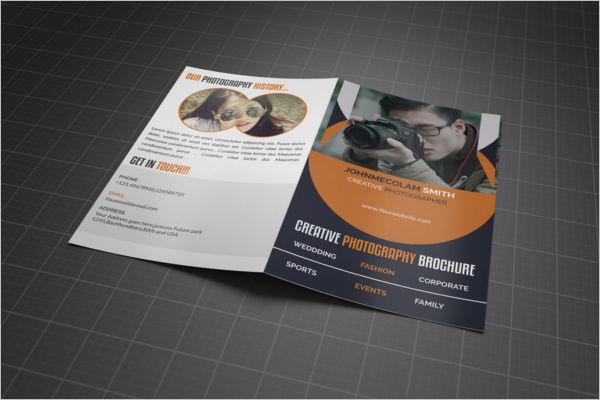 Free Photography Brochure Design
