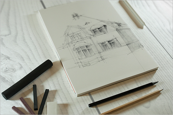 Free Sketch Mockup Template