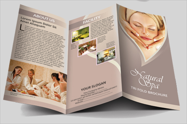 Spa Brochure Templates Free Word PDF Example Ideas - Spa brochure templates