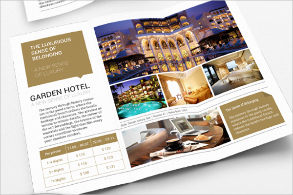Free Travel Brochure Design