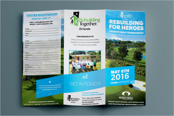 Free Trifold EventBrochure Template