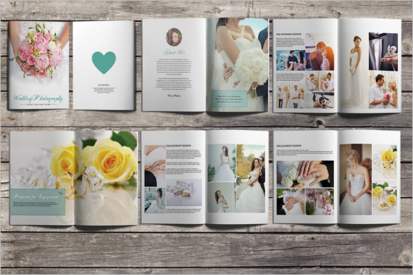 Free Wedding Planner Brochure Template