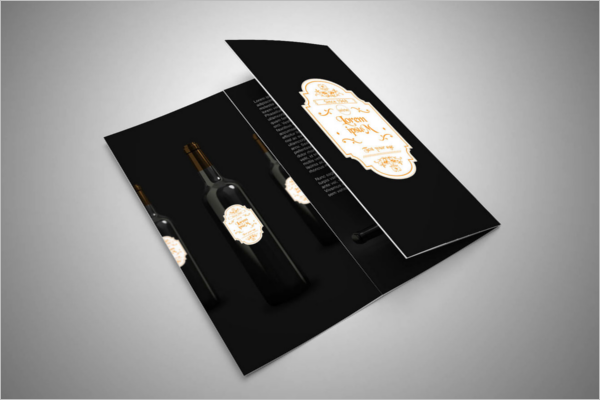 Free Wine Brochure Template